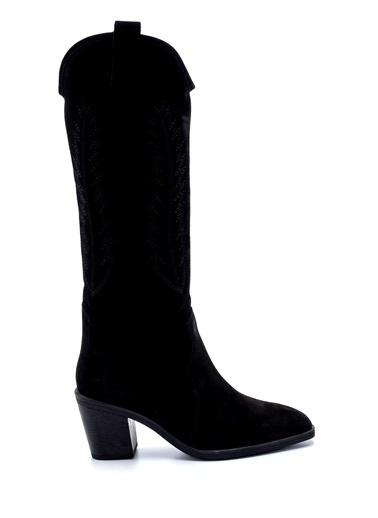 Derimod Kadın Çizme (20171) Casual Siyah